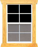 2X3 DOUBLE PANE WINDOW