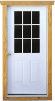 "36"" Solid Door"